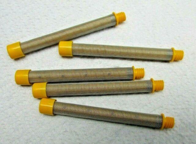 OEM Titan Spraytech Gun Filters 100 Mesh 5-Pack Scew-In 500-200-100