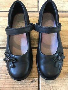 Girls school shoes Clark's size 1 F | eBay