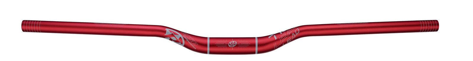Reverse lead - 770mm MTB manubrio 31,8mm  rojo gris  Entrega directa y rápida de fábrica