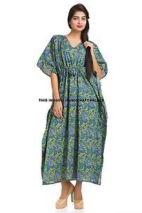 New-Indian-Kaftan-Caftan-Kimono-Cocktail-Evening-Beach-Maxi-Long-Dress-Plus-Size