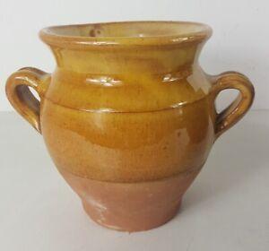 Piccolo Vaso Da Grasso IN Terracotta Smaltata Du Sud Ovest