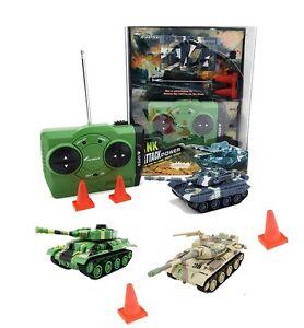 RC-Mini-Panzer-Attak-in-Kunstoffbox-inkl-Akku-NEU