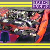 93-95 Chevy Camaro\pontiac Firebird All 3.4l V6 Full Cold Air Intake Black Blue