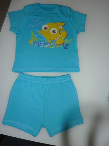 DISNEY Really Cute Little Blue NEMO PJ/'s NEW