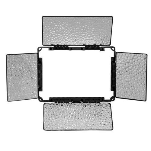 NANGUANG Abschirmklappen-Vorsatz Lichtklappen für LED Videoleuchte CN-B150