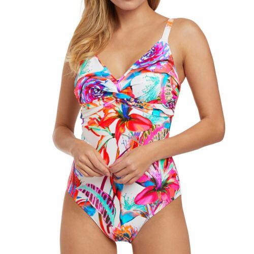 Fantasie Swimwear Paradise Bay Control Swimsuit//Swimming Costume Multi 6481