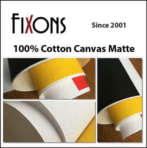 Cotton Canvas Matte for Epson Printer 24 x 40' - 1 Roll