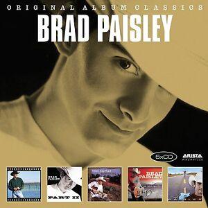 BRAD-PAISLEY-ORIGINAL-ALBUM-CLASSICS-5-CD-NEU