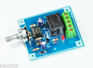 12VDC Windshield Wiper Timer Car Motor 3 - 30 seconds Relay 7A [ MXA041 ]