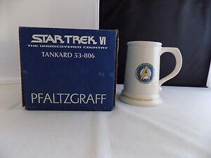 Star-Trek-VI-The-Undiscovered-Country-Tankard-53-806-Pfaltzgraff