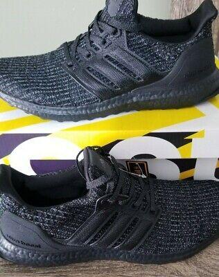 new style e68de 8294a Adidas Ultra Boost Ultraboost 4.0 Triple All Black BB6171 Size 13 | eBay