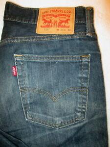 bleu Levis fonc denim Jeans en 514 qvR6T