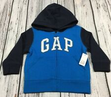 Gymboree Tide Pool 18-24 3T 4T Crab Applique Hoodie Hooded Jacket NWT Blue