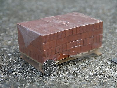"""Miniature Weathered Shipping Pallet 4/"""" x 4/""""  Action Figure 1:10 1:12 1:6"""