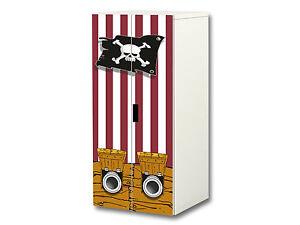 Piraten Möbelsticker / Aufkleber passend für Schrank STUVA von IKEA - SC18
