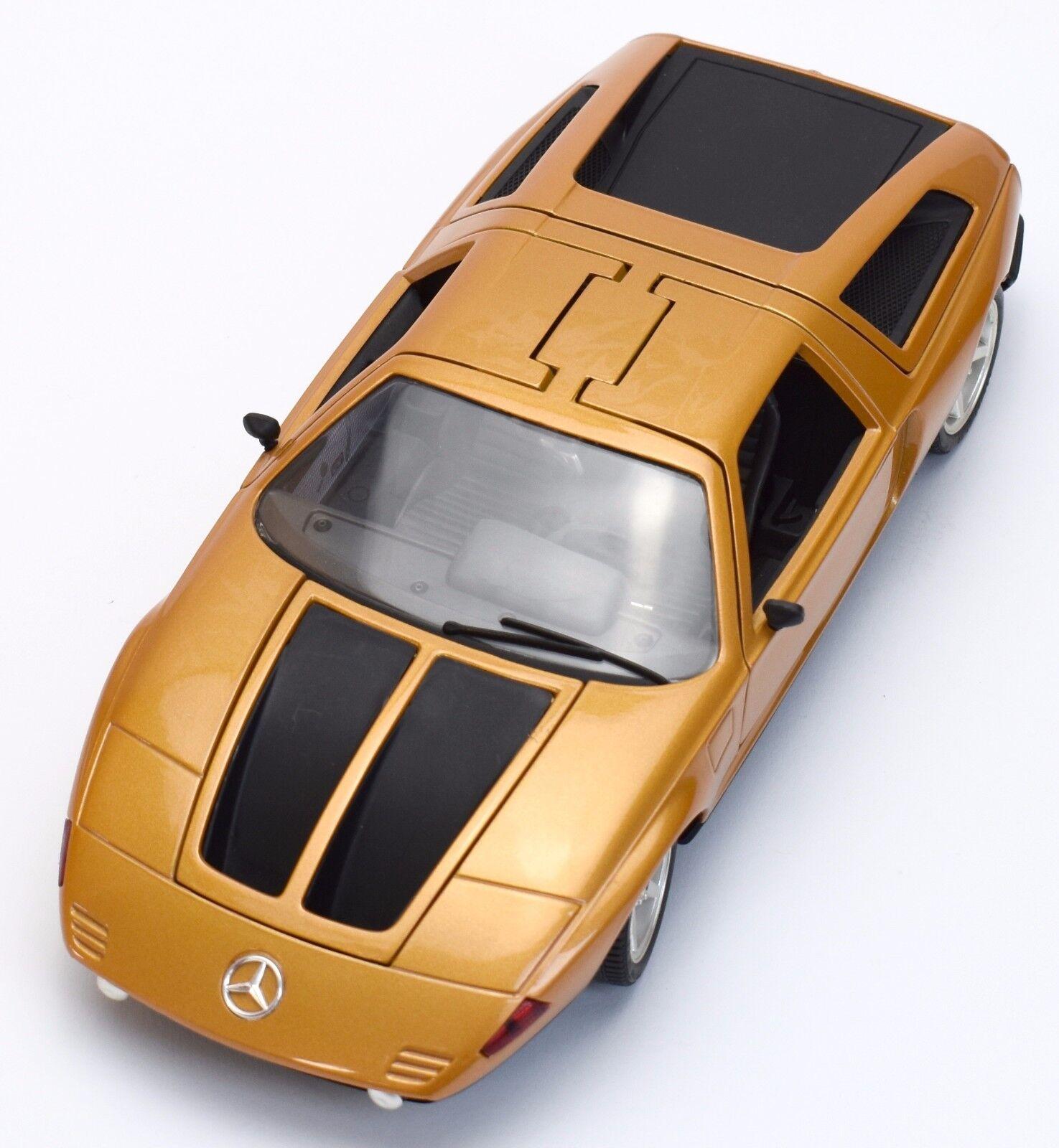 Guiloy 67501 mercedes benz c111 auto deportivo año 1969 en oro, OVP, 1 18, k041