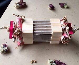 Chunky-Wood-Chew-Block-Pet-Rabbit-Guinea-Pig-Toy-Cardboard-Vine-Paper-Shredder