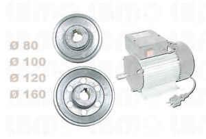 poulie pour moteur lectrique 80 100 120 160 mm axe 19 24 28 mm ebay. Black Bedroom Furniture Sets. Home Design Ideas