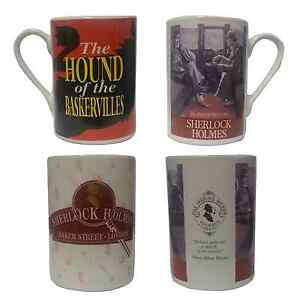 THE-ADVENTURES-of-SHERLOCK-HOLMES-MUG-CUP-4-DESIGNS-TO-CHOOSE-FROM-COLLECTORS