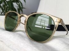 Oliver Peoples OV 5183 The Row O'Malley NYC Translucent Yellow + Green Glass