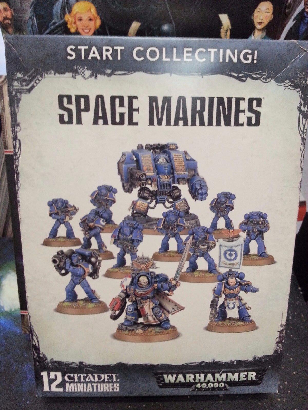 Estrellat collecting spazio MARINES warhammer 40k NUOVO esercito spazio  MARINE GW  basta comprarlo