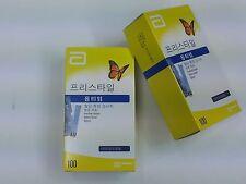 ABBOTT FREESTYLE Medisense Optium Xceed Blood Glucose Test Strips 100T x 12Box