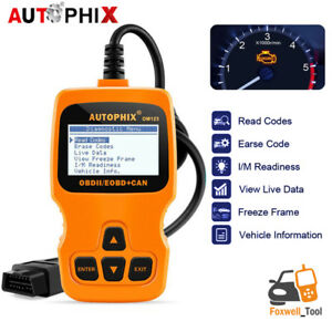 Vehicle Code Reader >> Details About Autophix Om123 Car Obdii Code Reader Read And Clear Vehicle Engine Fault Code