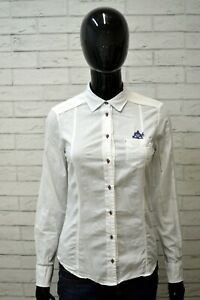 Camicia-Bianca-Donna-MASSIMO-DUTTI-Taglia-XS-Maglia-Manica-Lunga-Shirt-Woman