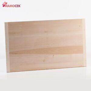 ASSE STENDIPASTA SPIANATOIA PER IMPASTARE PASTA LEGNO MASSICCIO 50 x 33 x 2 cm