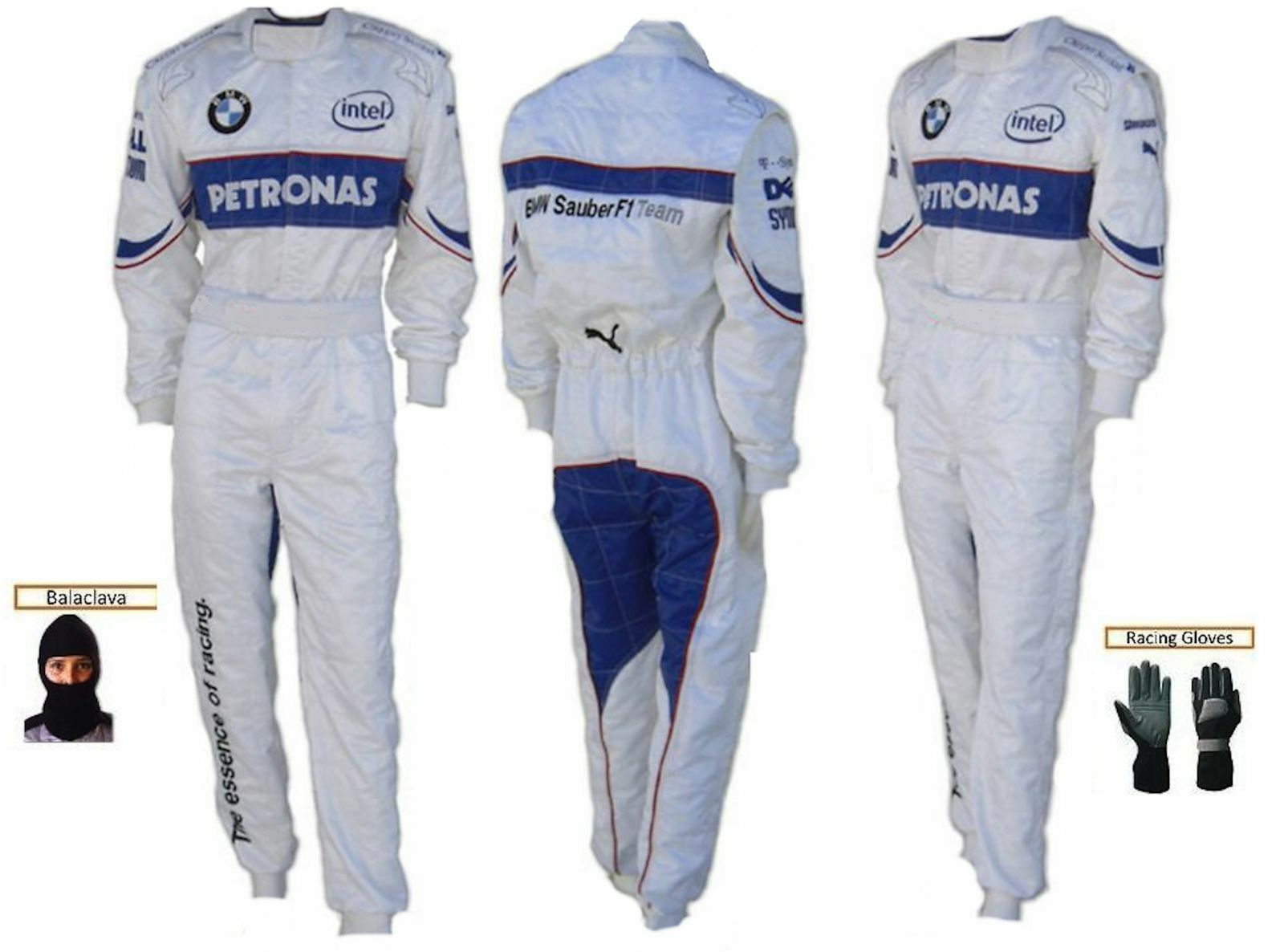 BMW petronas kart race CIK FIA  level 2 suit (free gifts)  classic fashion