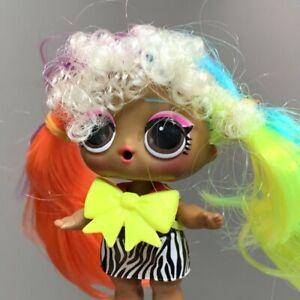 LOL Surprise Dolls Hairgoals Makeover Series 5 WAVE 2 METAL BABE Genuine toy
