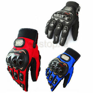 Paire-Gants-Doigt-Complet-Protection-Moto-Velo-Sport-Femme-Homme-Ete-M-L-XL-XXL