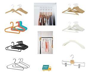 Grucce Per Guardaroba.Dettagli Su Ikea In Legno Plastica Metallo Grucce Appendiabiti Guardaroba Per Bambini Bianco Mostra Il Titolo Originale