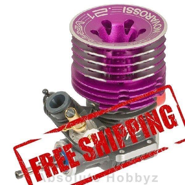di moda Novarossi Virtus 7-Port .21 .21 .21 Xlungo Stroke Off-strada Engine (Turbo Plug) (Steel)  vieni a scegliere il tuo stile sportivo