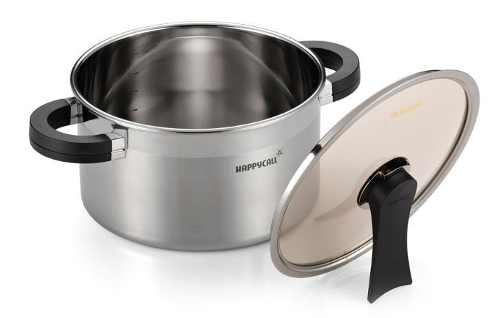 Happycall Full Casting Triple Structure 24cm Stainless steel pot
