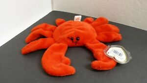 Ty Beanie Baby ~ DIGGER the Red Crab ~ MINT with MINT TAGS ~ RETIRED ... 4987491f2fa