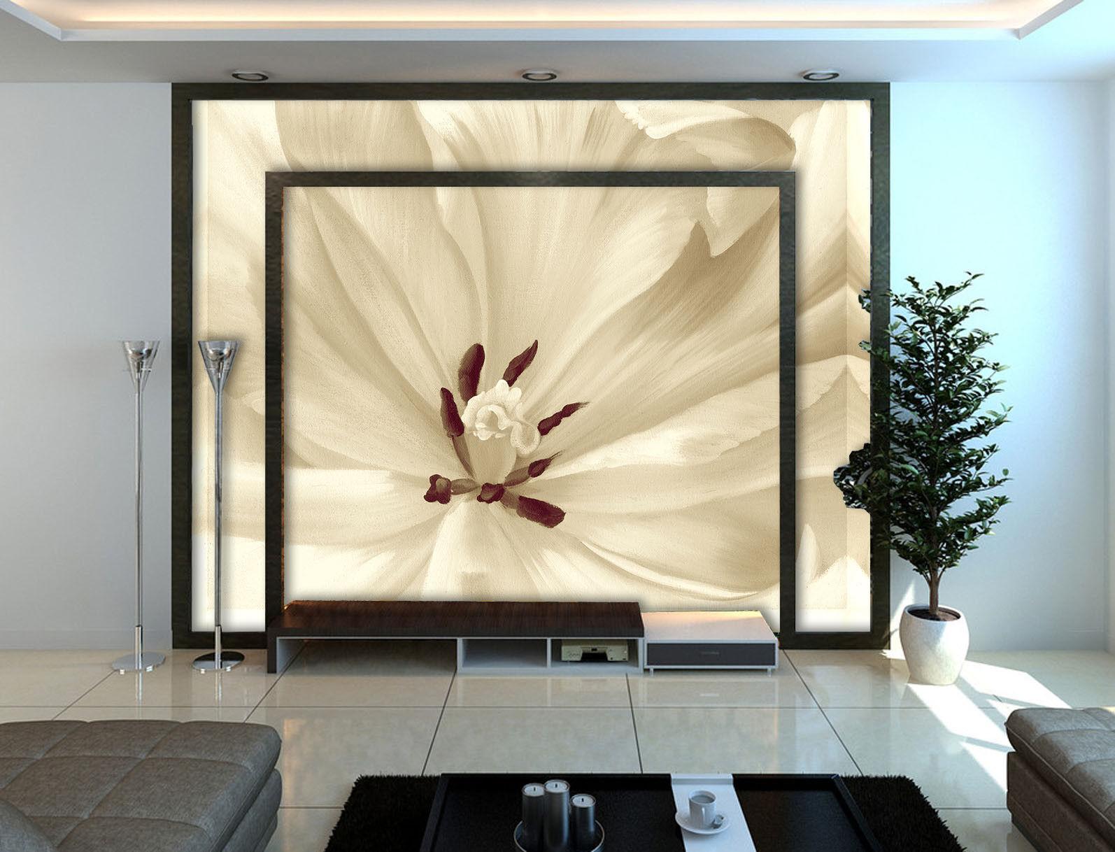 3D 3D 3D Weiße Blütenblätter 835 Tapete Wandgemälde Tapete Tapeten Bild Familie DE   Ausgewählte Materialien    Hochwertige Produkte     1de631