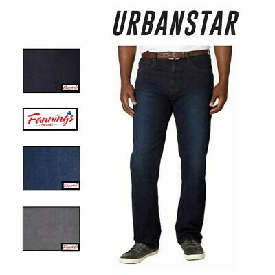 SALE! NEW Urban Star Men's Relaxed Fit Straight Leg Stretch Jeans VARIETY F51 | eBay