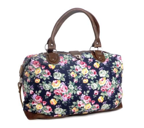 per da donna weekend donna da da floreale per Borsa borsa borsa viaggio viaggio da viaggio UtO6qUwx0