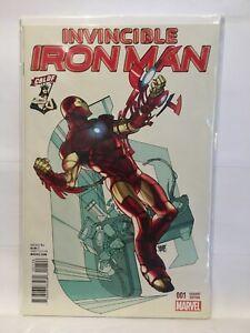 Invincible-Iron-Man-1-CBLDF-Variant-Cover-NM-1st-Print-Marvel-Comics