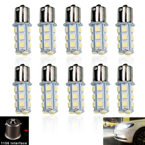 20X Car RV Cool White 1156 BA15S 5050 18smd LED Light Bulb 7503 1141 1073 Sale