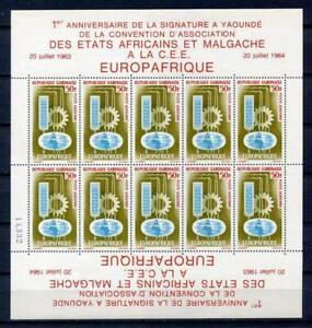 29689-Gabon-1964-MNH-Europafrique-Ms