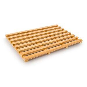 bamboo wood wooden slatted duck board bathroom bath shower. Black Bedroom Furniture Sets. Home Design Ideas