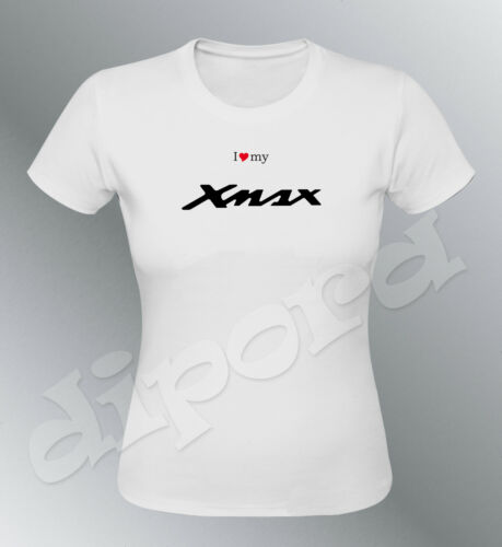 Tee shirt personnalise Scooter Xmax  S M L XL femme X-max