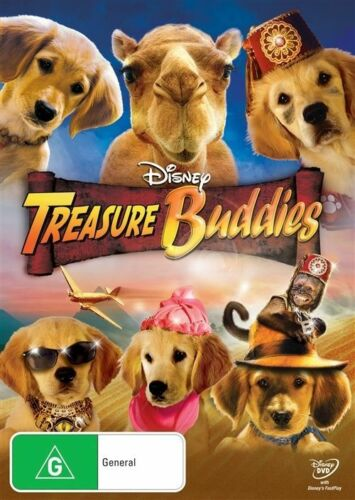 1 of 1 - Treasure Buddies NEW R4 DVD