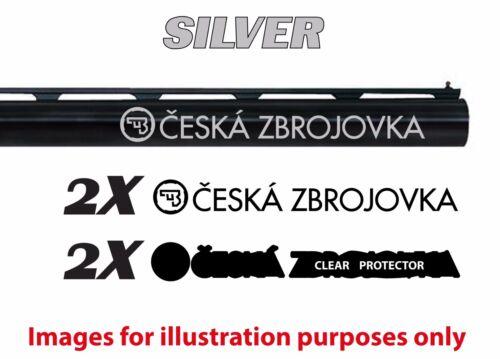 CZ Autocollant Vinyle Autocollant Pour Fusil//Pistolet//case//GUN Safe//Voiture//CZ1