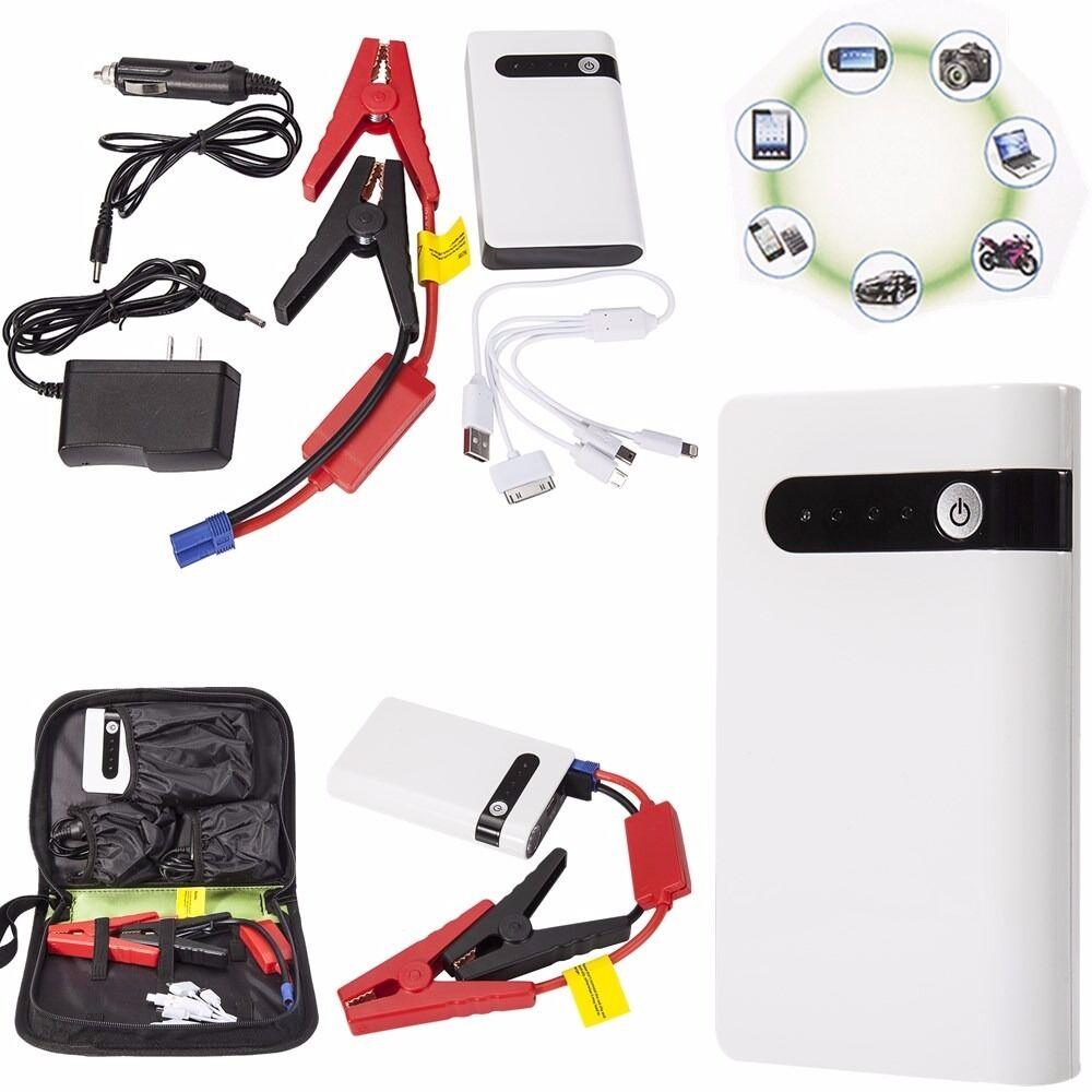 portable 20000mah car jump starter booster engine battery. Black Bedroom Furniture Sets. Home Design Ideas