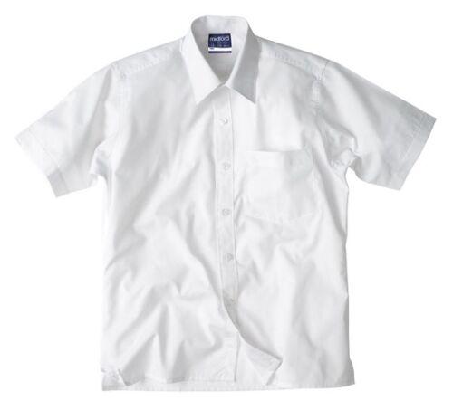Midford Girls SIze 4 Short Sleeve School Shirt Blouse Cotton Poly School Shirt