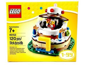 Astounding 40153 Lego Birthday Cake Topper Set New Sealed In Original Box Ebay Funny Birthday Cards Online Alyptdamsfinfo