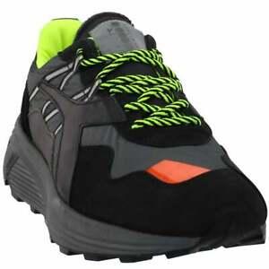 Diadora-Rave-Nylon-Sneakers-Casual-Black-Mens